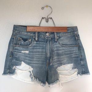 American Eagle vintage high-rise festival shorts